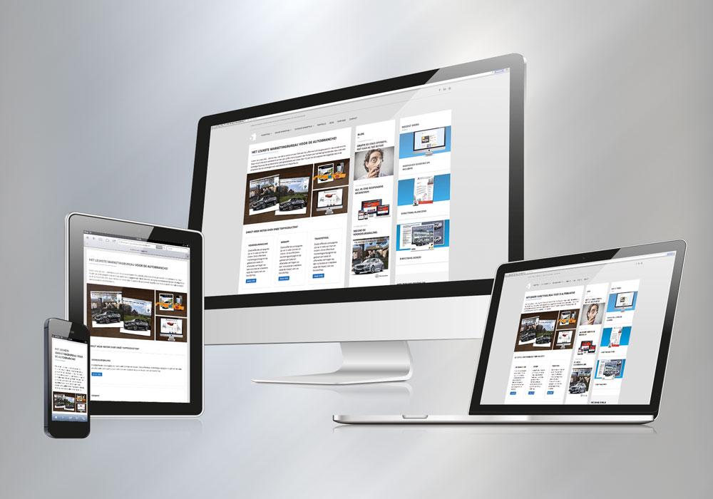 Uw website is goed te zien op alle mobiele devices